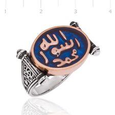 Bague Chevalière Homme Argent massif 925 islam 15 gr toutes taille Silver Ring