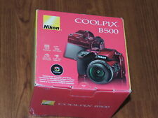 NEW - Nikon COOLPIX B500 16.0 MP Camera - RED - 018208265084 - FedEx 2Day Ship