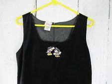 MICKEY & MINNIE Disney Store Women's Long Dress Sleeveless Size Medium A9