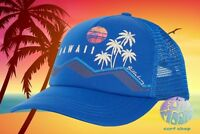 New Billabong Across Waves Hawaii Womens Snapback Trucker Cap Hat