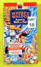Where's Waldo: Around the World in a Daze ~ New VHS Video  Fox Kids Cartoon Show