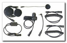 MotoComm MC-553 Full Face Helmet Headset for Kenwood Radios