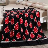 Naruto0 Uchiha Itachi Red Cloud Blanket Air Conditioning Quilt Flannel Sheets
