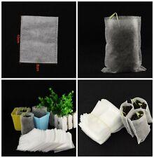 Lot de 100 Sac Pots Biodégradable Pour Semis Plantation Culture Plant Jardin