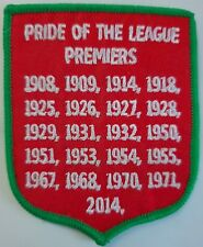 South Sydney Rabbitohs premierships iron on patch