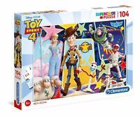 Toy Story 4 Clementoni 104 Pieces SuperColor Puzzle