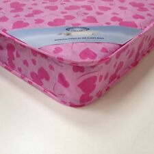 MR SLEEPS 3FT SINGLE ECONOMY CHEAP BUDGET MATTRESS  PINK LOVEHEART BRAND NEW