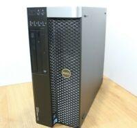 Dell Precision T3600 Wind 10 Tower PC Intel Xeon E5 16260 3.5GHz 16GB 640GB WiFi