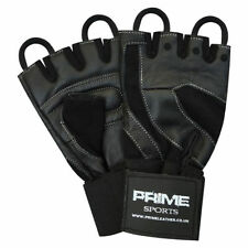 Men's Leather Half Finger/Fingerless Cycling Gloves