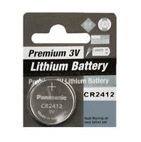 Premium Batteries CR2412 3V Lithium Coin Cell (1 Battery)