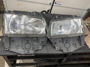 PAIR 97-03 OEM VW Volkswagen Eurovan T4 Rt and Lt Headlight Headlamp assembly