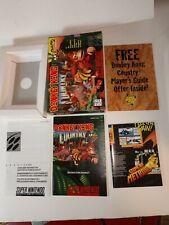 N64 Donkey Kong 64 Box & Manuals case insert, MINT CONDITION Nintendo 64