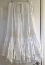 Gorgeous Antique Petticoat w/ Tiers of Floral Ruffles (Petticoat 6)