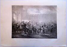 Lithographie de Martinet,Napoléon, Entrée aux Tuileries