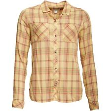 Converse Workwear Button Down Checked Long Sleeve Shirt, Yellow, Small, BNWT