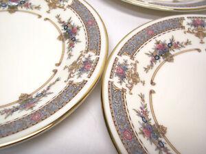 "4 Minton PERSIAN ROSE BREAD & BUTTER PLATE Set Lot 1979 6-1/2"""
