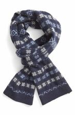 Barbour Men's ' Martingale' Wool Scarf In Navy