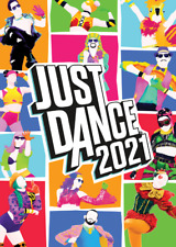 Just Dance 2021 Video Game Poster Art Print Wall Home Room Decor A4