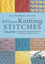 The Harmony Guides: 440 More Knitting Stitches Vol. 3 by Harmony Guide Staff (1…