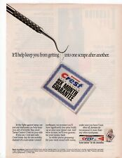 Crest Tarter Control Tooth Paste Print Ad Glamour March 1993 Free shipping