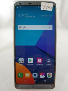 "LG G6 US997 32GB 5.7"" US Cellular GSM Unlocked Android Smartphone Silver V740"