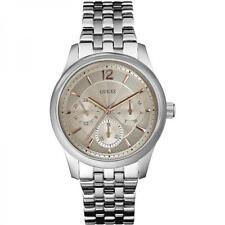 Reloj Hombre GUESS ASSET W0474G2 Pulsera Acero Multifunción Rose Beige