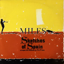 MILES DAVIS ‎- Sketches Of Spain (LP) (EX-/VG)