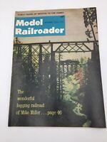Model Railroader Magazine FREE SHIPPING October 1964