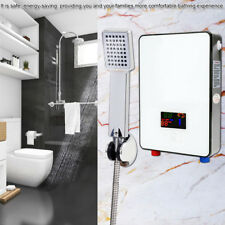 6500W Electric Tankless Water Heater Instant Hot Shower Bathroom Outdoor Camping