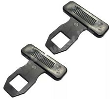 2 X UNIVERSAL CAR SEAT BELT BUCKLE ALARM BEEP STOPPERS BELT ALARM STOPPER UK