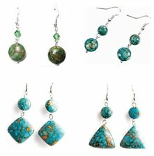 Mode-Ohrschmuck aus gemischten Metallen mit Perle