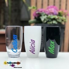 Personalised, Named, Tumbler, Cup. Island, Holiday, Party, Barbecue