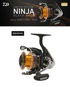 Daiwa Ninja Black & Gold Limited Edition Fishing Reel NJ3000BG