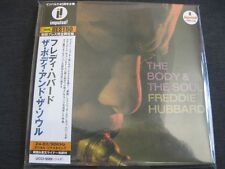 FREDDIE HUBBARD, The Body & The Soul, JAPAN CD Mini LP, UCCI-9089,Impulse 24 bit
