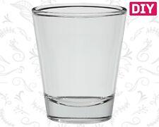 3 Dozen Blank Shot Glasses Clear Glass Barware Whiskey Rum Bulk Tequila 1.5 oz