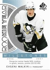 Evgeni Malkin #RYM-EM - 2017-18 SP Authentic - Rookie Year Milestones