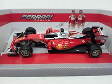 36800 Bburago 1:43 FERRARI Racing F1 SF16-H Sebastian Vettel Kimi Räikkönen 2016