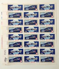 UNITED STATES STAMPS 1975 APOLLO SOYEZ MINT SHEET OF 24 STAMPS #C