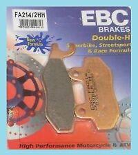 EBC FA214/2HH Sintered Rear Brake Pads Triumph Bonneville 2002-16