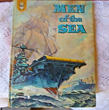 Men of the Sea by Willa Morley 1959 Hardcover English A Badger Book  Illustrated