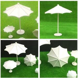 1:25 1:50 1:100 1:150 Scale DIY Mini Beach Sun Umbrella Model Outdoor Scene
