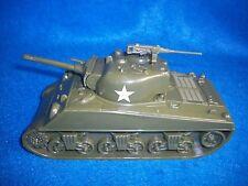WW II U.S.Sherman tank M 4, green with machine gun by Classic Toy Soldiers 1/38