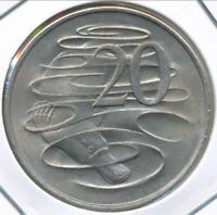Australia, 1966(L) Twenty Cents, 20c, Elizabeth II - Uncirculated