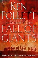 Fall of Giants, By Ken Follett,in Used but Acceptable condition