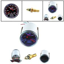 "Universal 2"" 52mm Tint Lens LED Water Temperature Temp Gauge Car Motor NEW"