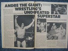 1977 Wrestling (ANDRE THE GIANT/MR. WRESTLING II/JOSE LOTHARIO/BABA  THE  GIANT)