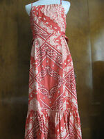 Anthropologies Holding Horses women's multi color cotton dress size 12 NWT
