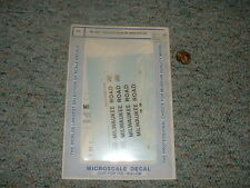 Microscale decals HO MC-4031 Milwaukee Road 50' steel coil car  E131