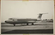 1960 Realphoto Aviation/Airplane Postcard: Tarom BAC 1-11