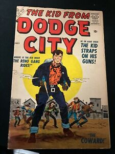 THE KID FROM DODGE CITY(FN) ISSUE#1, NUMBER ONE, ALTAS COMICS, 1957